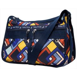 Nautica Captain's Quarters Linked Geo Hobo Handbag