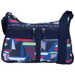 Nautica Captain's Quarters Sailboat Hobo Handbag
