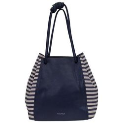 Nautica Rhinemaiden Striped Hobo Handbag