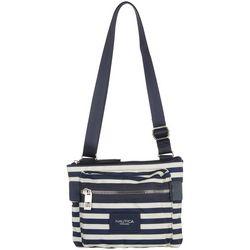 Nautica Armada Formation Striped Crossbody Handbag