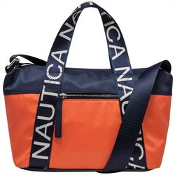 Nautica It's Just So Captain Satchel Handbag
