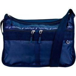Nautica Captain's Quarters Solid Hobo Handbag