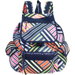Nautica Captains Quarters Stripes Backpack