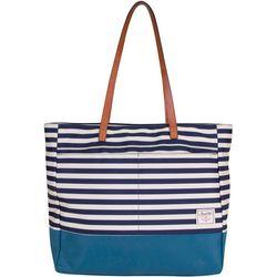 Nautica Mainlander Stripes Tote Handbag
