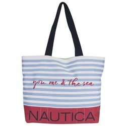 Nautica You Me & The Sea Recent Plunder Tote Handbag