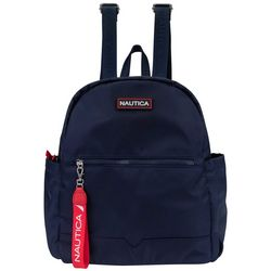 Nautica Diver Solid Canvas Backpack