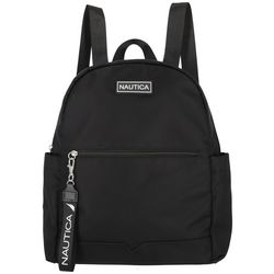 Nautica Diver Canvas Solid Backpack