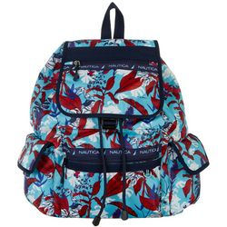 Nautica Captains Quarters Floral Print Backpack