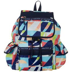 Nautica Captains Quarters Abstract Print Backpack