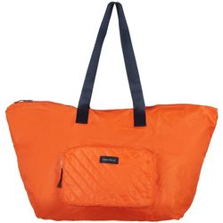 Nautica Quilted Lightweight Packable Tote Handbag