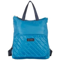 Nautica Quilted Lightweight Packable Backpack