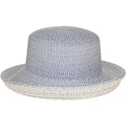 Nine West Womens Mixed Braid Kettle Hat