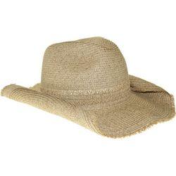 Nine West Womens Natural Cowboy Hat