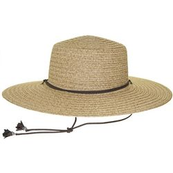 Nine West Womens Woven Straw Bolero Hat