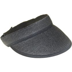 Nine West Womens Black Trim Packable Visor
