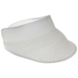 Nine West Womens Packable Straw Visor