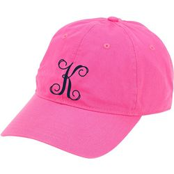 Viv & Lou Womens Monogram K Baseball Hat