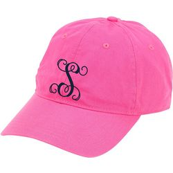Viv & Lou Womens Monogram S Baseball Hat