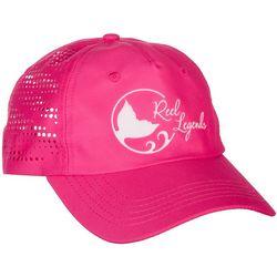 Reel Legends Womens Pink Laser Cut Hat