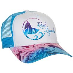Reel Legends Womens Swirling Motion Trucker Hat