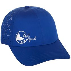 Reel Legends Womens Solid Mesh Logo Baseball Hat