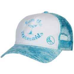 Reel Legends Womens Save The Mermaids Trucker Hat