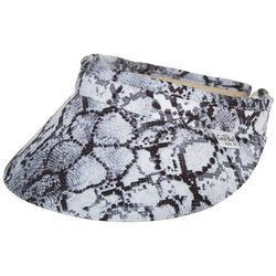 Coral Bay Golf Womens Animal Floral Print Visor