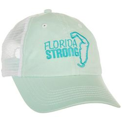 Florida Strong Womens State Arm Embroidered Trucker Hat