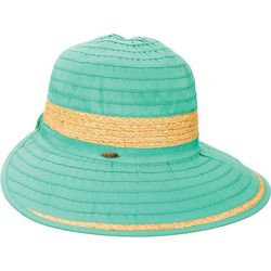 Scala Womens Ribbon Face Framer Sun Hat