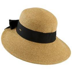 Scala Womens Ribbon & Bow Sun Hat