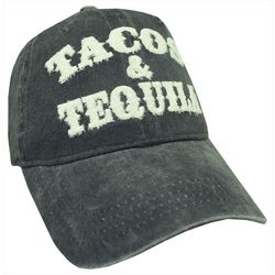 Alabama Girl Womens Tacos & Tequila Baseball Hat