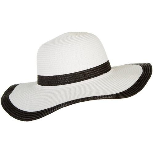 1bf06017e82 Mad Hatter Womens Solid Trim Floppy Hat | Bealls Florida