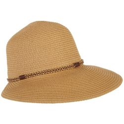 Mad Hatter Womens Braid Detail Sun Hat