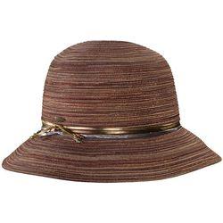 Capelli Womens Lurex Bucket Hat