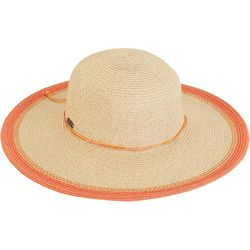 733e054bbe7 Sun N  Sand Womens Contrasting Trim Floppy Hat