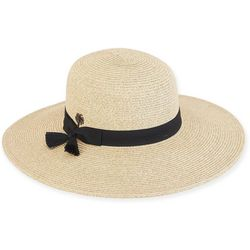 Sun N' Sand Womens Paperbraid Floppy Sun Hat