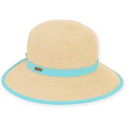 Sun N' Sand Womens Backless Face Framer Hat