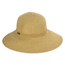 Sun N' Sand Womens Cotton Trim Band Sun Hat