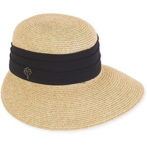 1ae81dfc Sun N' Sand Womens Paper Braid Trim Sun Visor | Bealls Florida