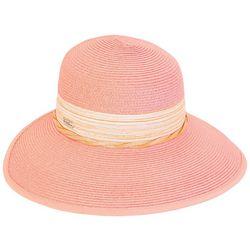 Sun N' Sand Womens Suede Twist Hat