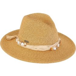Sun N' Sand Womens Flowers & Hearts Safari Hat