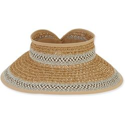 Sun N' Sand Womens Tweed Visor