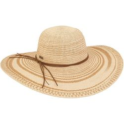 Sun N' Sand Womens Floppy Sun Hat