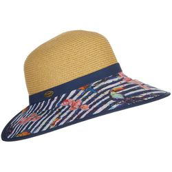 Leoma Lovegrove Womens Tropical Birds Backless Sun Hat