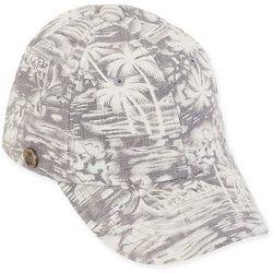 Caribbean Joe Womens Tropical Palm Tree Printed Hat