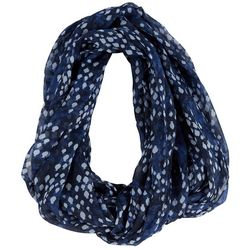 Dennis East Womens Fish Print Infinity Scarf