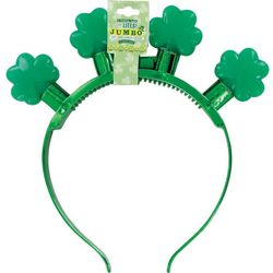 DM Merchandising Womens Lucky Flashing Shamrock Headband