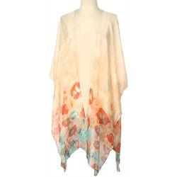 Cejon Accessories Womens Ethereal Floral Print Kimono