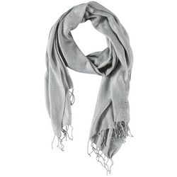 Bay Studio Womens Lurex Shine Wrap Scarf