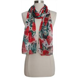 Bay Studio Womens Watermelon Print Scarf